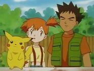 EP008 Pikachu, Misty y Brock