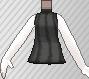 Jersey sin mangas negro