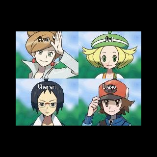Videollamada entre 4 personajes.
