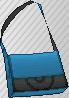 Bandolera Bicolor Azul claro