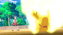 EE13 Pikachu usando Rayo