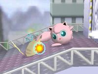 Jigglypuff usando destructor SSB