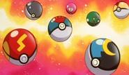 EP145 Poké Balls