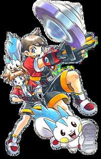 Pokemon ranger batonnage manga-2