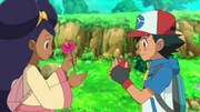 EP793 Ash e Iris disculpándose