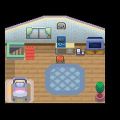 La habitación del jugador en <a href=