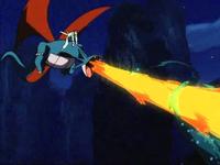 P06 Salamence usando lanzallamas
