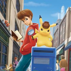 Artwork de Detective Pikachu