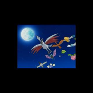 Skarmory junto a varios Pokémon <a href=