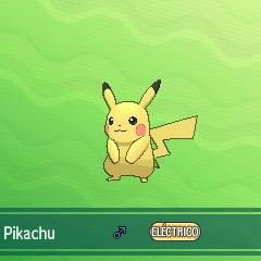 ...aparecerá el Pokémon...