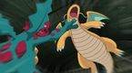 EP763 Dragonite VS Druddigon