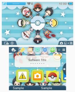 Tema 3DS Pokémon Friends
