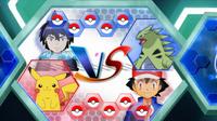 EP933 Pantalla del combate de Ash y Alain (1)