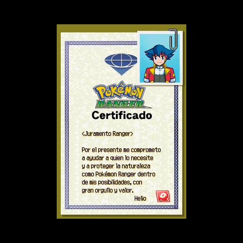 Certificado Masculino
