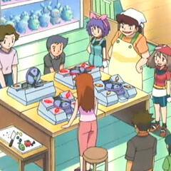 Licuabayas en una tienda de pokécubos.