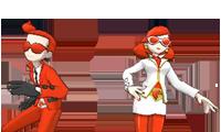 VS Comandante y Recluta del Team Flare (2)