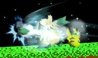 Abomasnow usando puño hielo SSB4 3DS