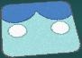 Alfombra azul ROZA