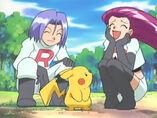 EP365 Pikachu con Jessie y James