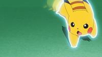 EP951 Pikachu usando ataque rápido