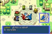 Latios y Latias en la Plaza Pokémon