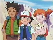 EP135 Brock, Ash y Misty