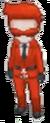 Recluta del Team Flare (hombre) mini XY