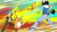 EP1107 Flashback Lt Surge vs Ash