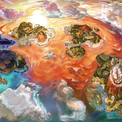 Nuevo Mapa de Alola.