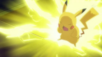 EP712 Pikachu usando trueno