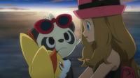 EP864 Serena con sus Pokémon