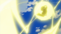 EP917 Pikachu usando rayo