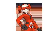 VS Recluta del Team Flare (mujer)