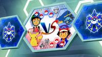 EP930 Pantalla del combate de Ash y Sabino (3)
