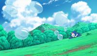 EP975 Popplio usando Rayo burbuja