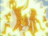 EP006 Pikachu usando impactrueno en ash