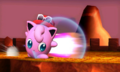 Jigglypuff usando destructor lateral SSB4 3DS