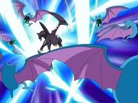 EP566 Garchomp usando garra dragón