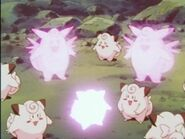 EP006 Clefairy evoluciona a Clefable.