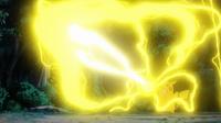 EP954 Pikachu usando gigavoltio destructor