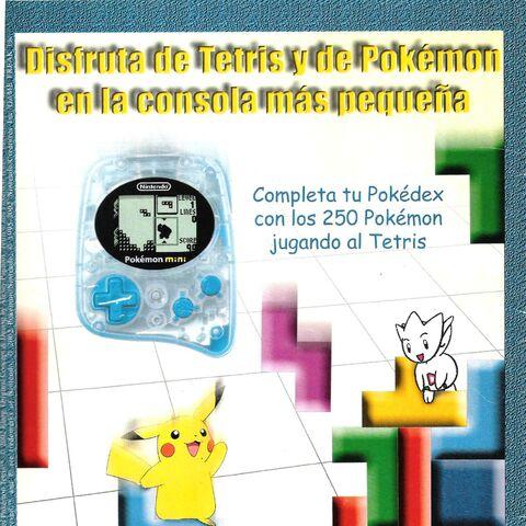 Promo española de Pokémon Tetris.