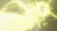 EP848 Pikachu usando rayo