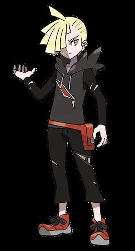 Gladio en Pokémon Sol y Pokémon Luna