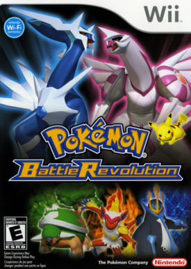 Carátula Pokémon Battle Revolution