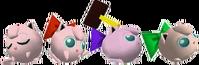 Paleta de colores de Jigglypuff SSB