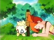 EP090 Misty con Togepi
