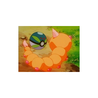 Park Ball capturando a Weedle.
