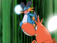 EP407 Swampert vs corphish