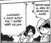 Chico scout phil y super nerd william