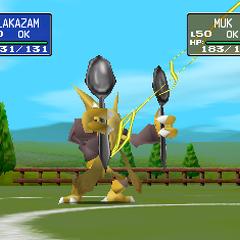 Alakazam usando anulación en <a href=